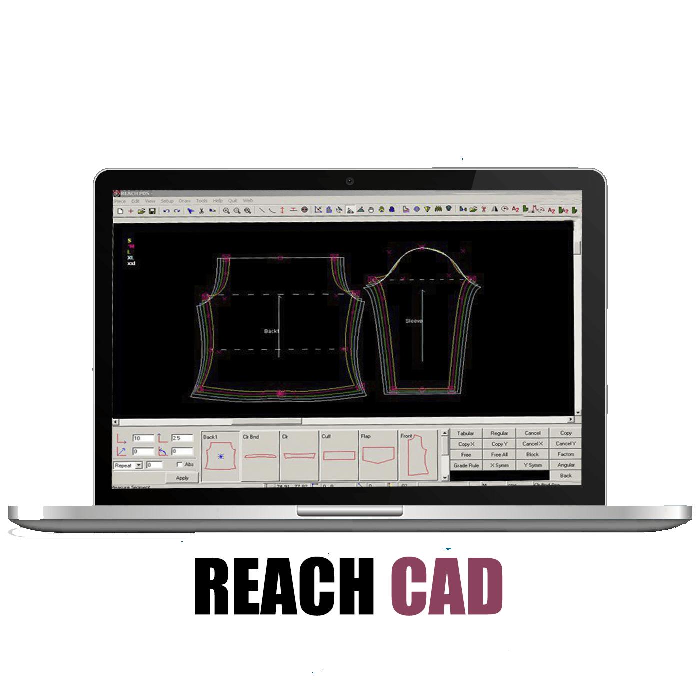 Apparel Garment Clothing Fashion Cad Software Reach Cad
